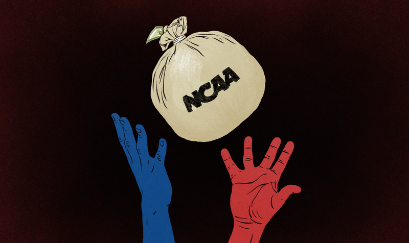 Illustration for article titled This Is How To Pay College Athletes