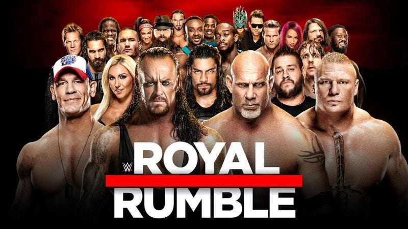 Illustration for article titled In a Royal Rumble with few surprises, the WWE delivered one of its best cards in years