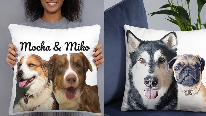 Custom Face Pet Pillow | $19 | Etsy