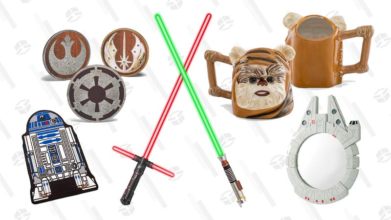 $10 off all Lightsabers | Think Geek | Use promo code SABERSALE for lightsabers