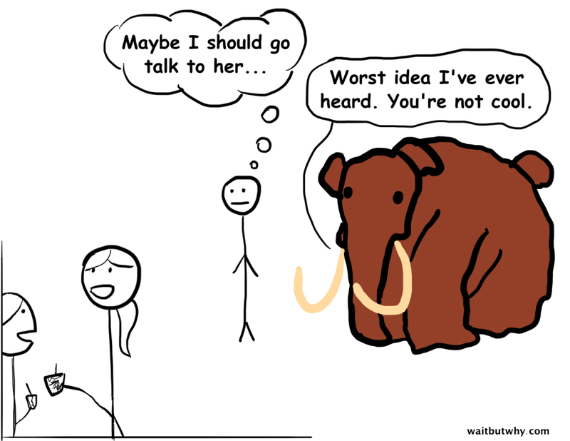 taming the mammoth why you should stop caring what other people think