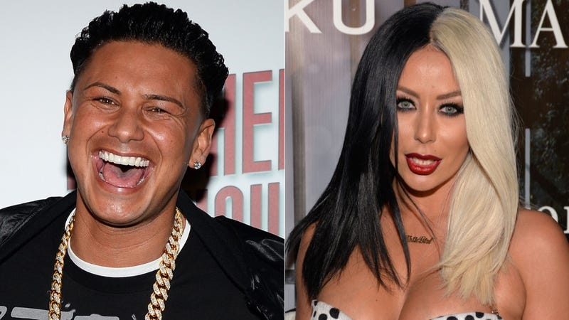 Aubrey dating pauly d