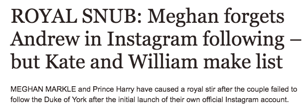 Football Loses His Instagram Account to Harry and Meghan