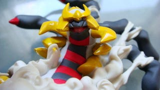 Illustration for article titled Giratina Origin Forme Figure Up Close and Personal
