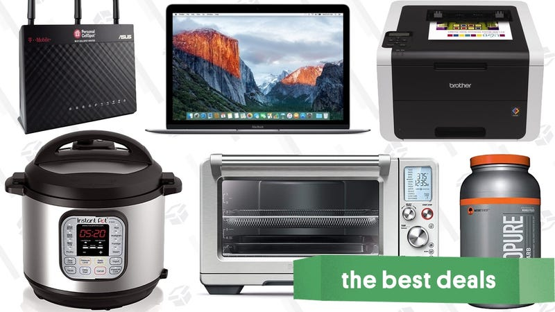 Illustration for article titled Friday's Best Deals: Breville Smart Oven, Reader-Favorite Router, Apple MacBooks, and More