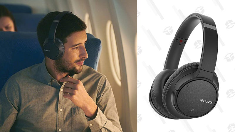Refurb Sony Wireless Noise Canceling Over-Ear Headphones | $55 | eBay