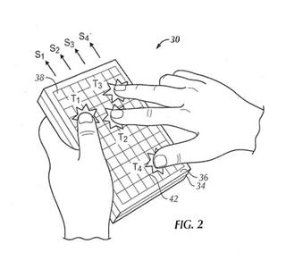 Illustration for article titled Apple Patent Application Reveals a Bumpy Tablet