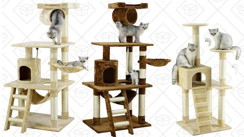 Cat Tower Gold Box | $35-$52 | Amazon