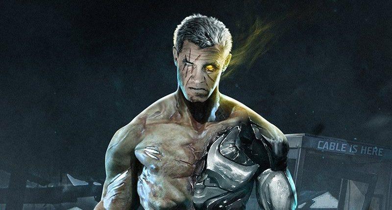 Una ilustración no oficial de Brolin, caracterizado como Cable. Imagen: Comic Book