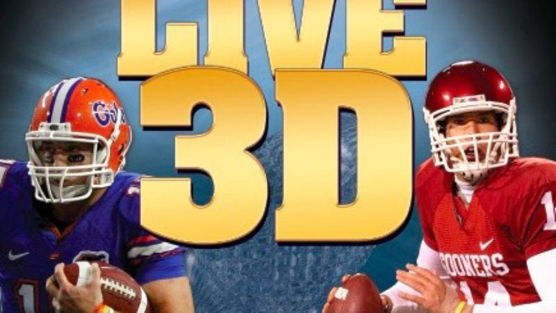 Illustration for article titled Prepare to duck: ESPN 3D will be comin' at ya