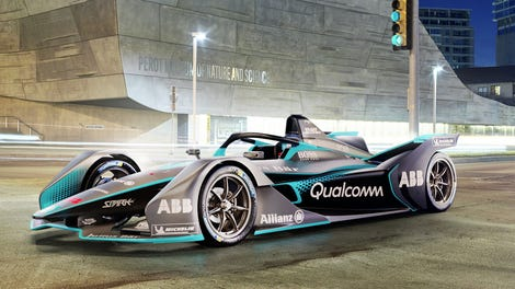 Formula E S New Race Car Actually Looks Pretty Awesome And It Has A Halo