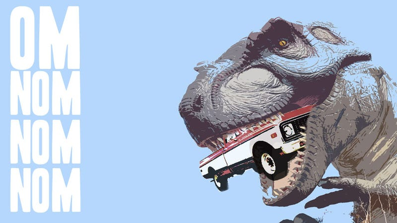 Illustration for article titled Isuzu: What To Drive When The Giant Lizards Come