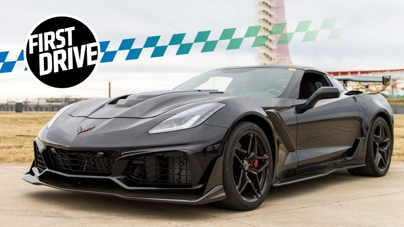 The 2019 Chevrolet Corvette Zr1 Feels Like A Rocket