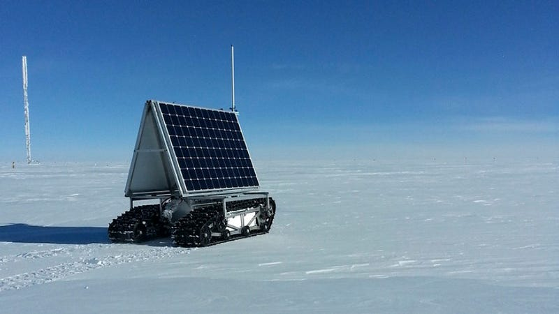 Illustration for article titled El nuevo robot de la NASA sobrevive a su prueba en Groenlandia
