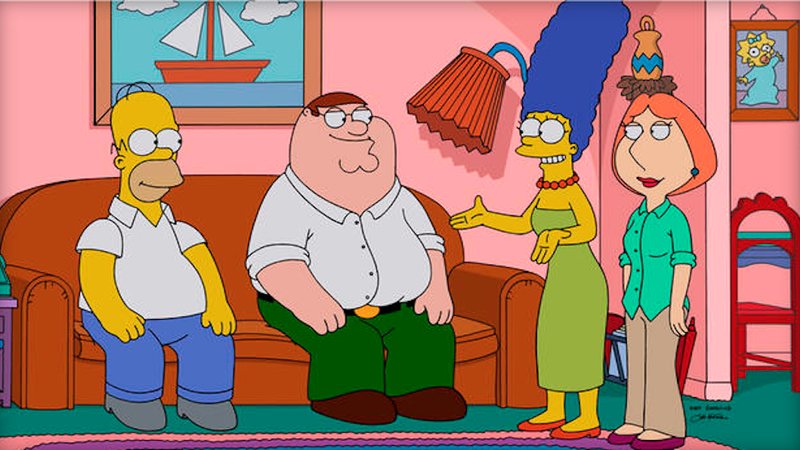 Illustration for article titled The Simpsons and Family Guy Join Forces to Make a Rape Joke