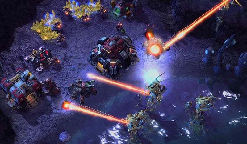 Illustration for article titled We Require More StarCraft II Screen Shots