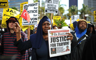 Illustration for article titled Images of a Movement: Fighting for Trayvon