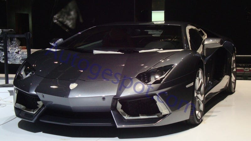 Illustration for article titled Lamborghini Aventador LP700-4: First Look