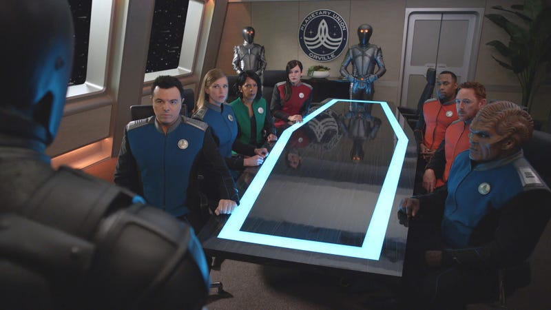 The Orville goes big and goes home