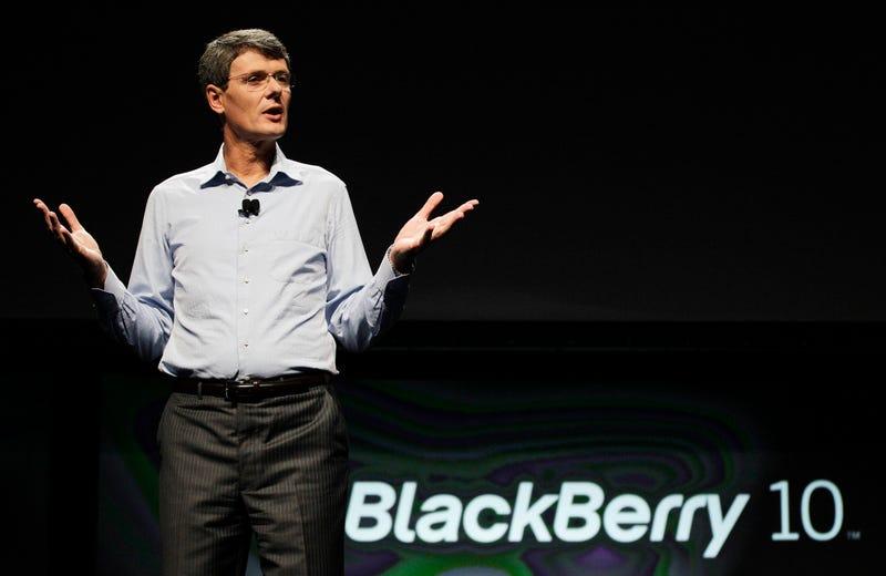 Illustration for article titled ¿Tendría sentido que Lenovo comprara BlackBerry?