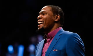 """Illustration for article titled Kevin Durant To Dwight Howard: """"You're A Pussy"""""""