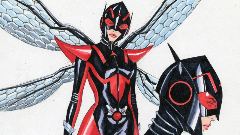 Illustration for article titled Here's Your First Inside Look at Marvel's All-New, All-Different Wasp