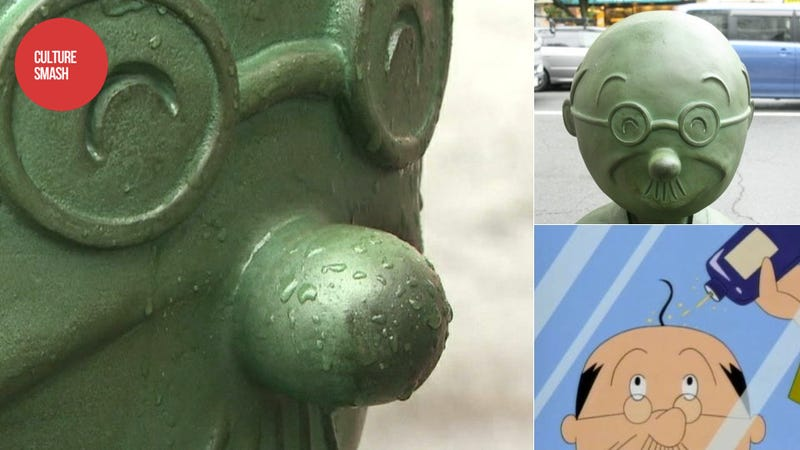 Illustration for article titled I'm Serious You Jerks, Stop Vandalizing the Anime Statues