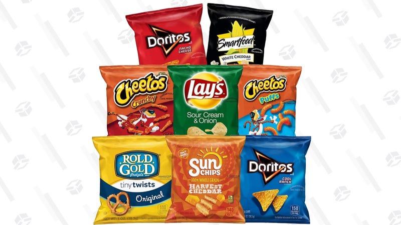 Frito Lay 40-Bag Variety Pack | $10 | Amazon | Clip the $3 coupon