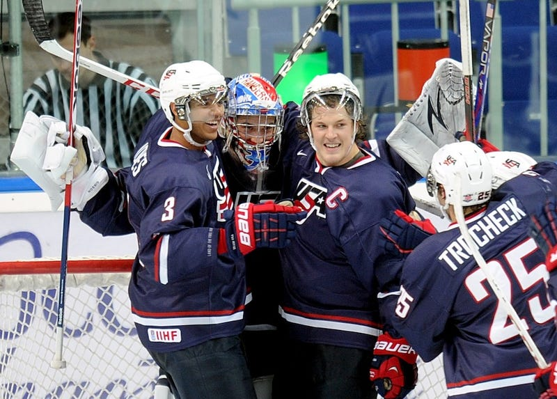 Your Open Thread For The Usa Sweden World Juniors Final Which We