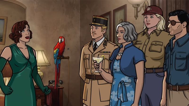 Archer and the gang are jumping to the '30s for some island adventures.