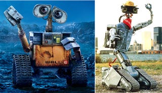 Illustration for article titled Wall-E vs. Johnny 5: Who Would Win In a Deathmatch?