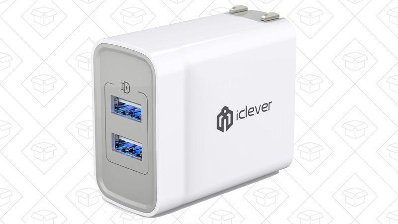 iClever BoostCube+, $7 con código ICWALL08