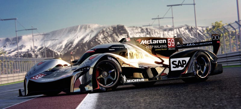 Illustration for article titled The Alternate Future Where McLaren Races At Le Mans Would Be Awesome