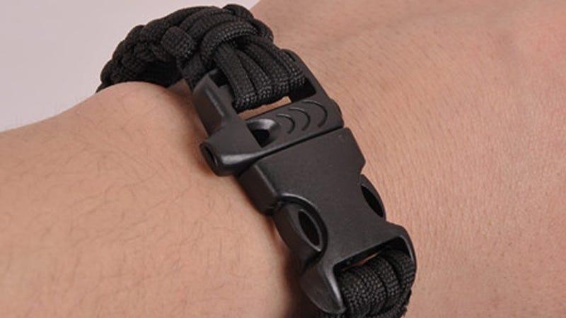 Geekpal Outdoor Survival Bracelet, $5 with code 3N2XM4A2