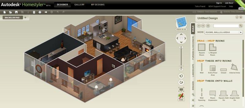 . Autodesk Homestyler Renders Your Blueprints in 3D