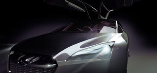 Illustration for article titled Subaru Hybrid Tourer Concept: An Electrically-Styled Wagon