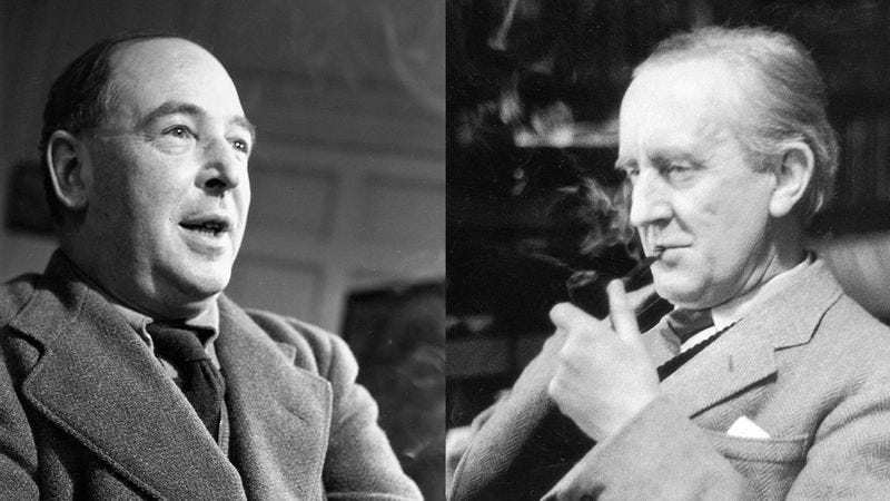 Illustration for article titled These Letters Between C.S. Lewis And J.R.R. Tolkien Shed Light On One Of The Greatest Literary Friendships Of All Time