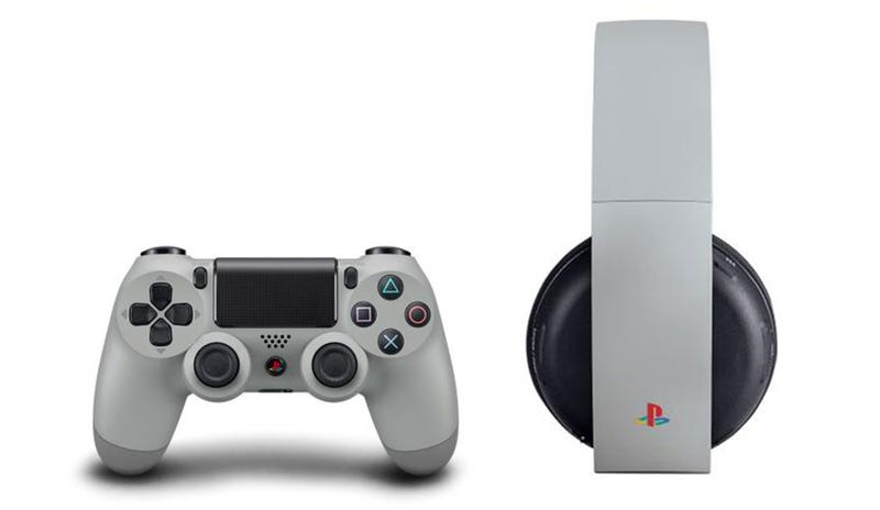 Illustration for article titled 20th Anniversary Accessories To Go With The PS4 You Didn't Get
