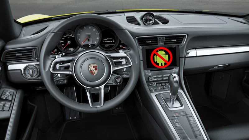 Illustration for article titled Porsche, Android Auto, And The Obligation Of Connected Car Transparency