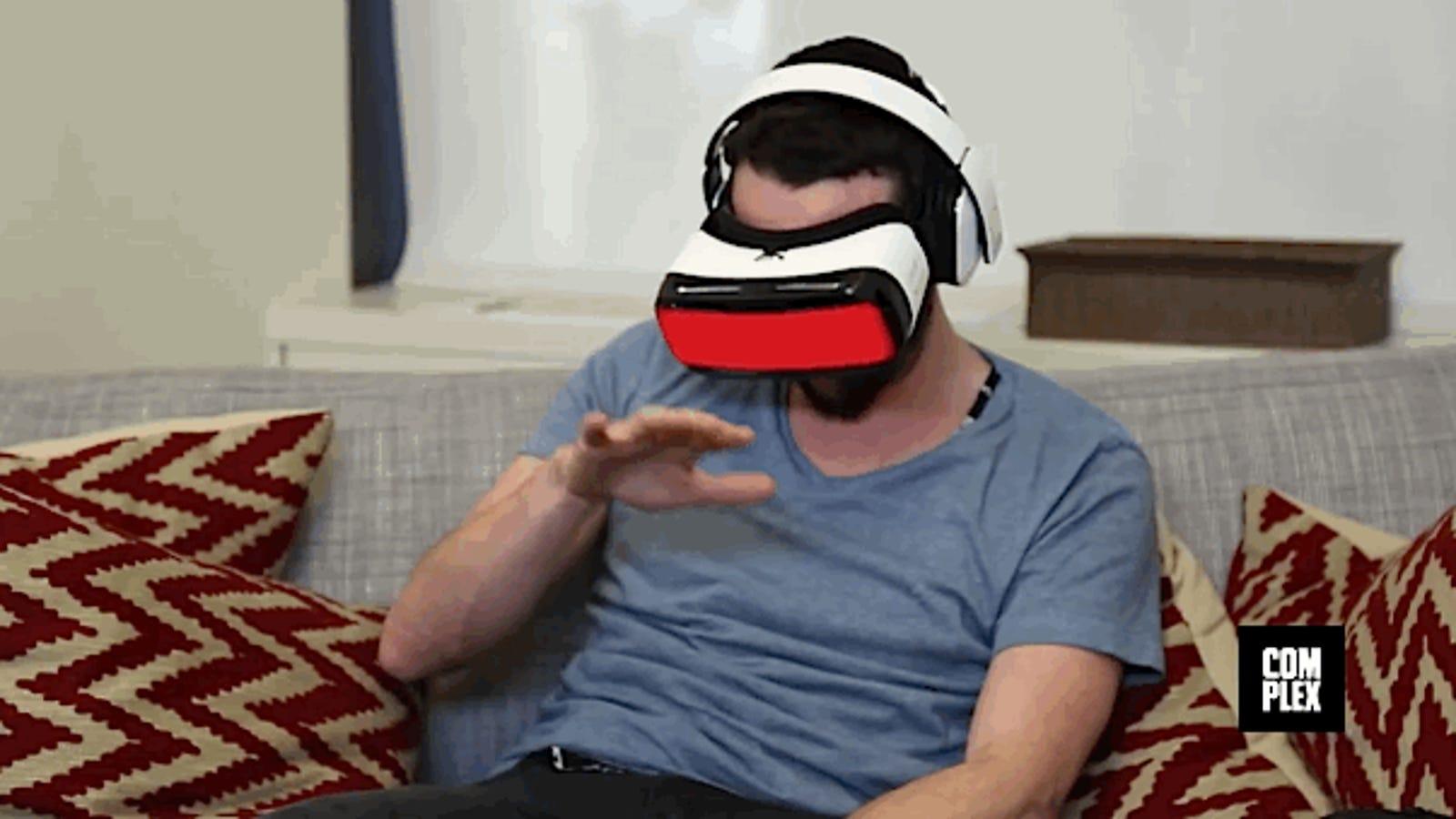 Qué ocurre cuando ves porno en realidad virtual por primera vez