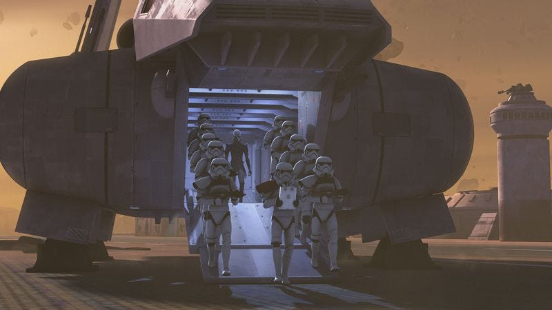 "Illustration for article titled Star Wars Rebels: ""Gathering Forces"""