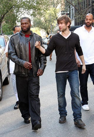 Illustration for article titled Strange Bedfellows: Chace Crawford, Curtis Jackson