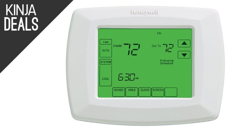 Illustration for article titled It's Not a Nest, but This $77 Thermostat is Easy to Program