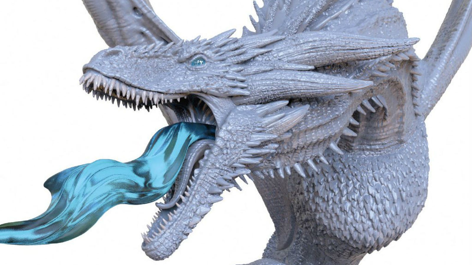 This Game Of Thrones Ice Dragon Collectible Is Incredible