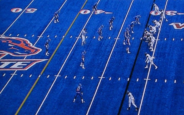 Craigslist In Boise >> Boise State Forbidden From Wearing All Blue Everything On All Blue Field