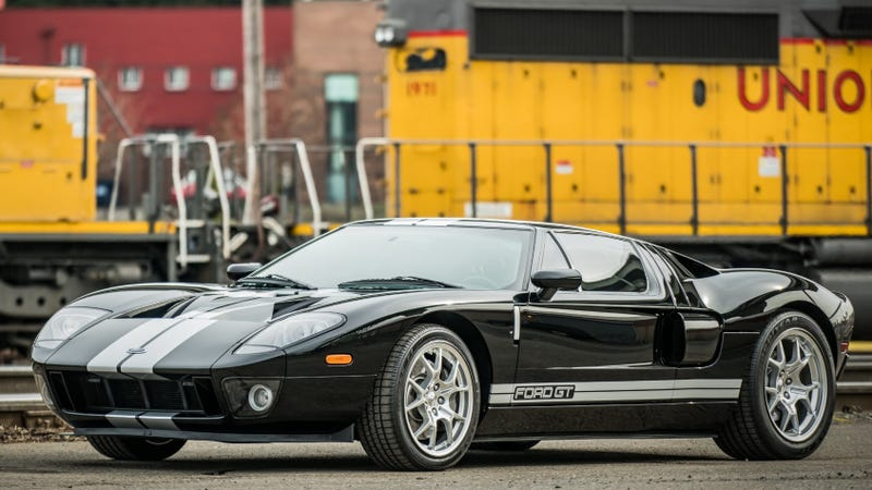 Photo All Images Via Bring A Trailer When The Ford Gt