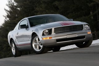 Illustration for article titled Ford Continues Relentless March Of Variants With 2009 'Warriors in Pink' Mustang