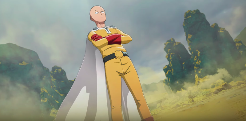 Illustration for article titled The One Punch Man Fighting Game Handles Its Overpowered Hero In A Quirky Way [Update]