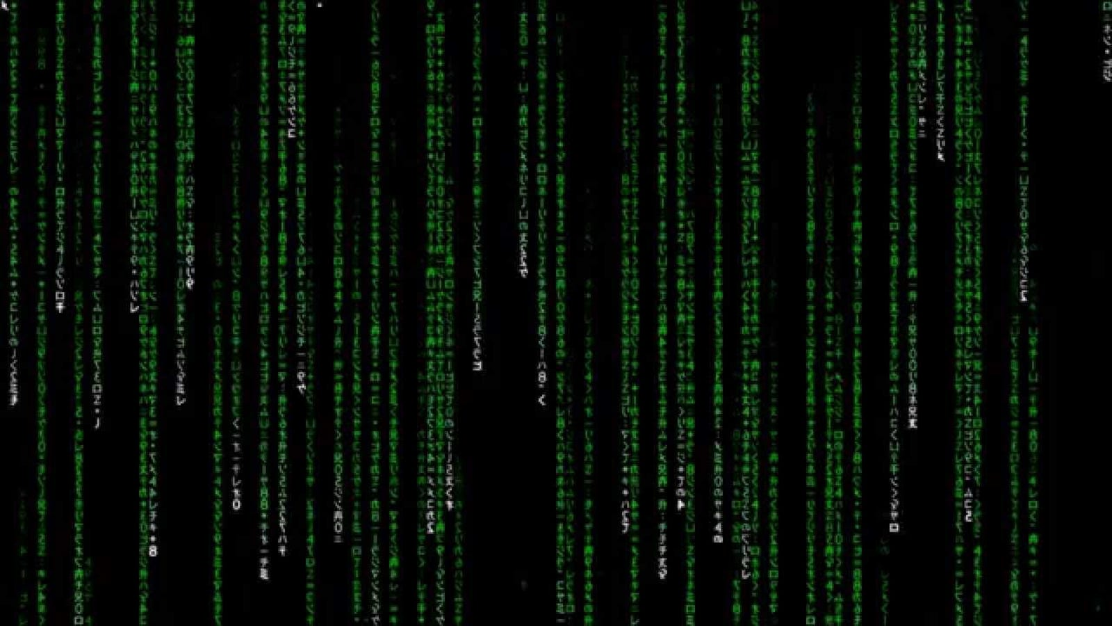 The Weird Green Code From Matrix Is Just A Bunch Of 4298626 Arduino 82158 Led It Turns Out Actually