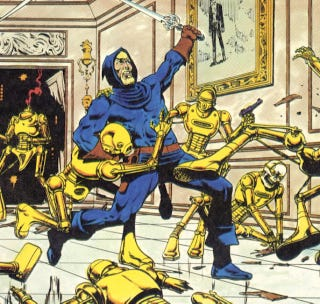 Illustration for article titled Dreadstar, The Craziest Scifi Comic Of The '80s, Is Coming To TV